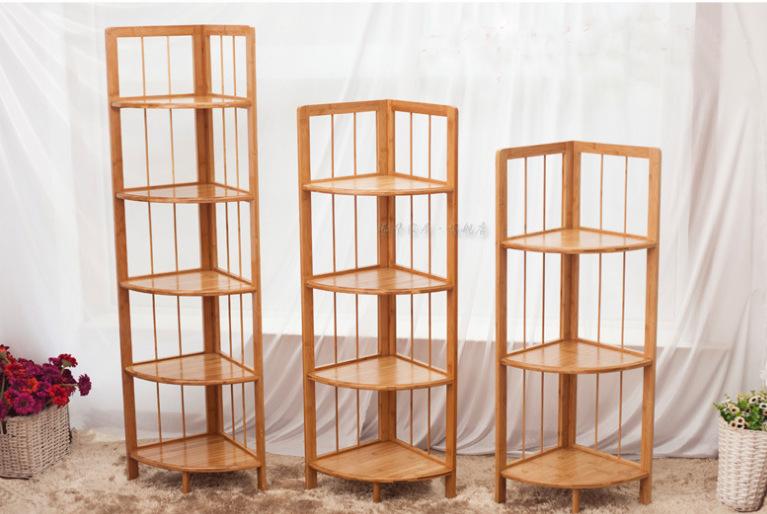 政和竹制品工廠生產楠竹碳化3 層鞋架 4層竹鞋架
