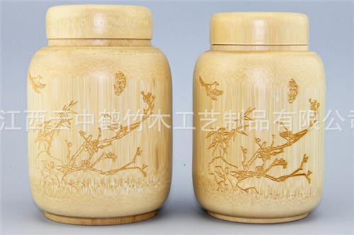 天然竹子 茶葉罐 創意茶葉罐迷你 普洱茶罐 茶葉罐子 定制