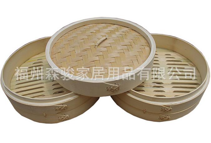 竹制蒸笼 竹蒸笼批发 竹蒸笼 直径8-65CM