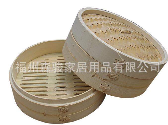 【厂家直销】各规格竹蒸笼圆形蒸笼,可定做各种规格