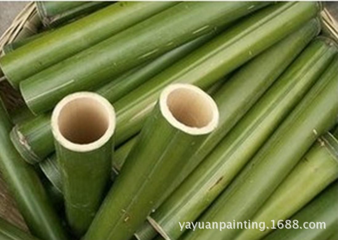 新鮮竹筒【廠家直銷】竹筒飯竹筒 粽子竹筒外徑3-4cm