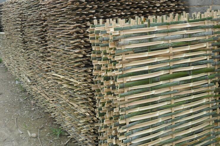 建筑专用脚手片竹芭片等各种小竹品种齐全