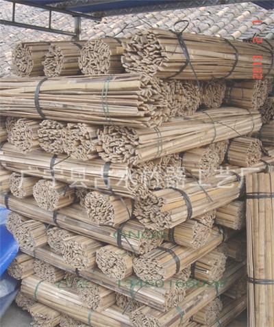 貨架專用竹片 廣寧竹片批發 長期供應各規格竹竿、優質竹片材料