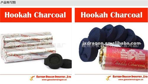 【厂家直销】出口圆片水烟炭/竹炭木炭/shisha charcoal无烟环保