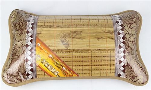 新品促銷批發夏涼枕 麻將竹絲枕頭 冰絲枕頭 茶葉保健透氣枕頭