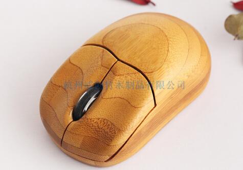 竹木鼠标木质鼠标促销礼品竹木质电子产品杭州威创竹木制品