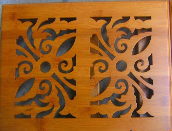 可折叠楠竹电脑桌 高档楠竹 方便美观
