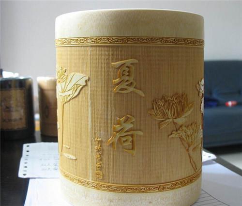 廠家直銷 批發定做各類廣告用品 宣傳用品 竹工藝品 筆筒