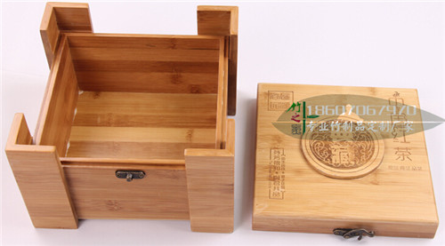 竹盒子茶葉罐收納盒竹盒定制定做竹盒包裝盒喜糖盒訂做