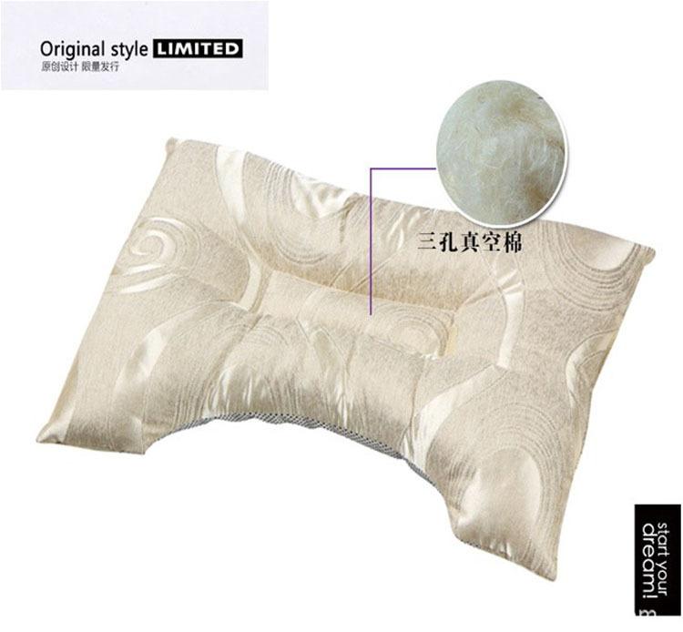 厂家供应 托玛琳竹炭枕头 护颈椎单人保健缓解呼噜 颈椎病专用枕