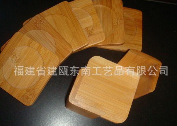 家居用品,竹制品,杯垫HA-0206 竹杯垫 竹垫子