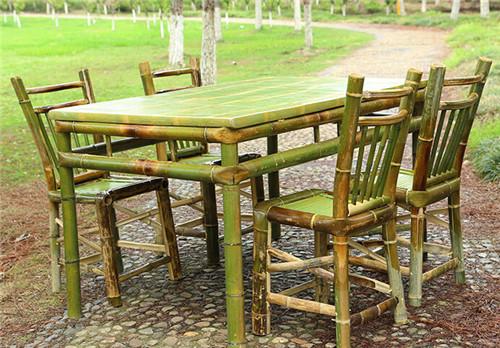 竹制品 竹家具 戶外桌椅 茶幾 成套家具