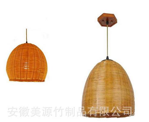 吊燈 純手工竹編織吊燈 燈具 客廳吊燈 燈具照明
