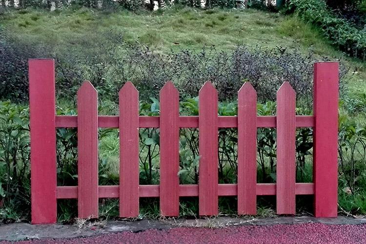 竹纖維生態木純手工竹制品圍欄庭院紅柵欄草坪護欄