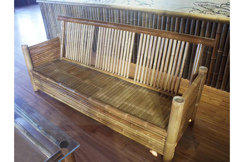 楠竹家具 圓竹家具 去青竹家具 碳化竹家具