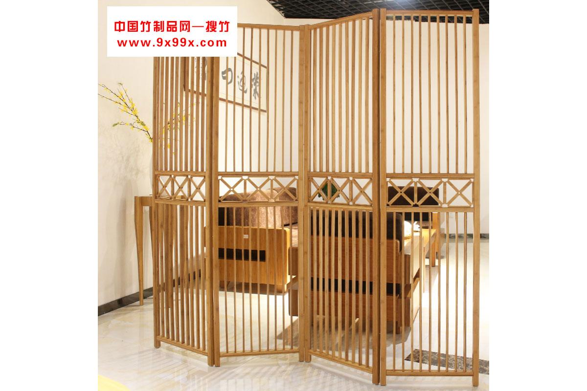簡約實木折疊屏風酒店復古中式楠竹屏風客廳玄關隔斷座屏