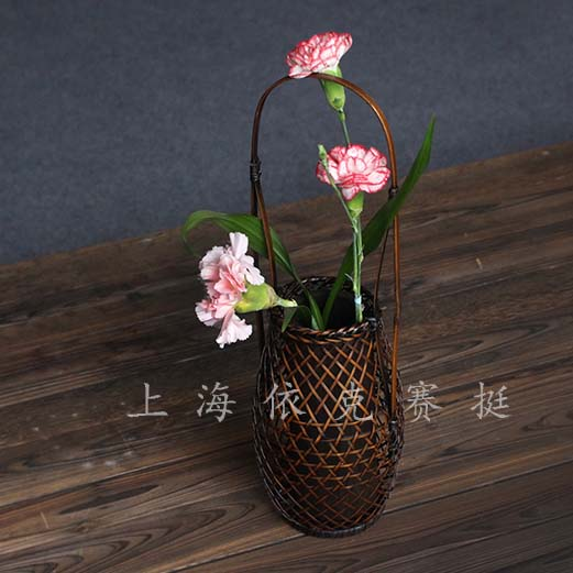 客廳竹工藝品裝飾