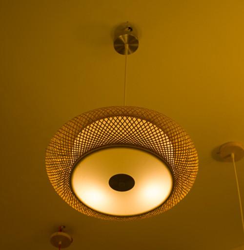 竹制工藝竹燈