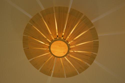 仿古中式竹藝大吊燈