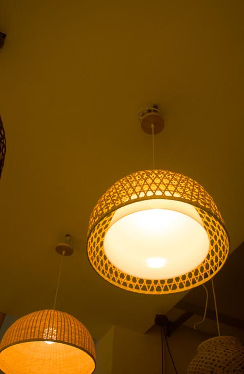 現代中式客廳吊燈