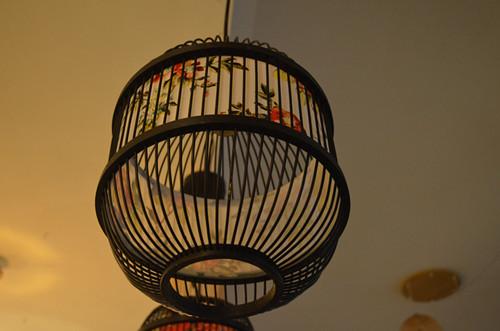 仿古中式竹編竹子燈