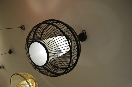 圓形燈飾照明
