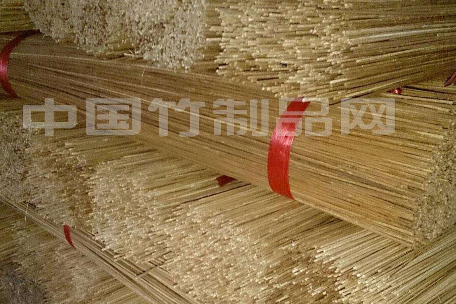 供應2.5mm竹絲 燒烤竹簽