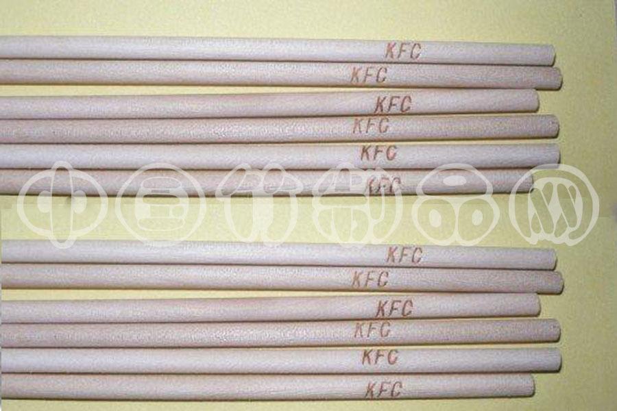 印字竹签,印字竹签厂家,印字竹签加工,优质竹签