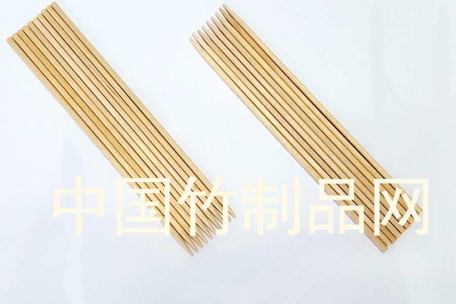 3.0*28印字竹簽燒烤簽