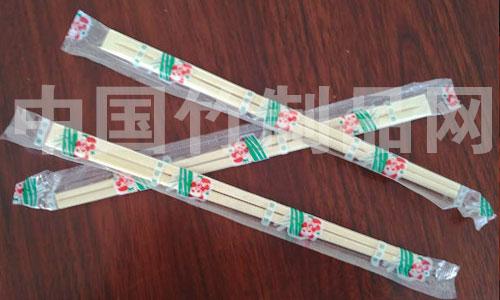 良竹精品筷 4.3*20一次性筷子 天削筷 opp包装 酒店快餐打包