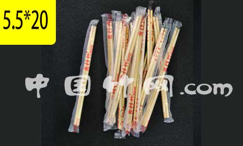 一次性筷子5.5*20良竹卫生筷子