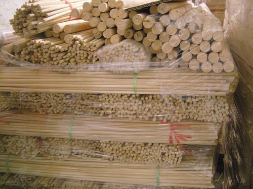 电机竹签 电动机竹签园棒5.0*50cm