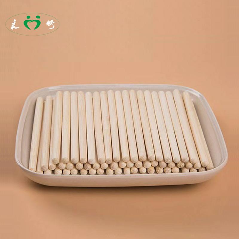 良竹筷子头厂家批发定制合金拼接换头筷一次性筷子酒店筷火锅筷子