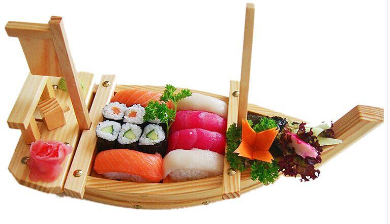 寿司船,竹制工艺