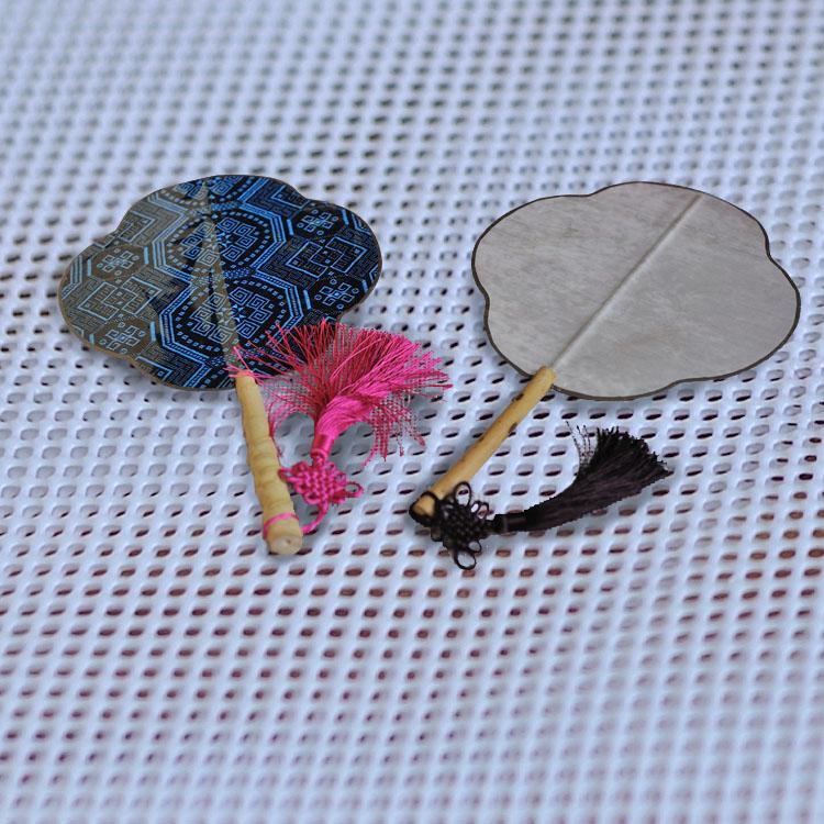 花型扇子,可定做竹扇