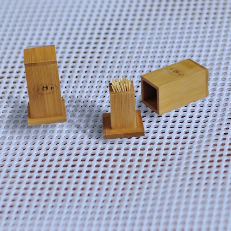 竹制品牙签盒,天然牙签盒