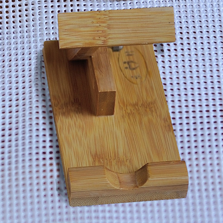 竹手機架,手機調節平板架