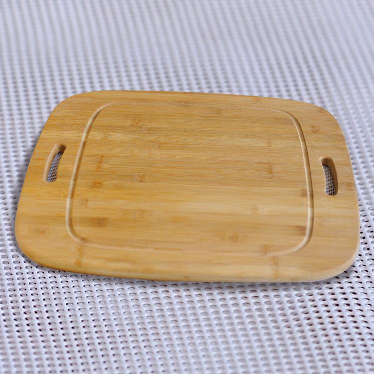 掛式竹菜板,橢圓形