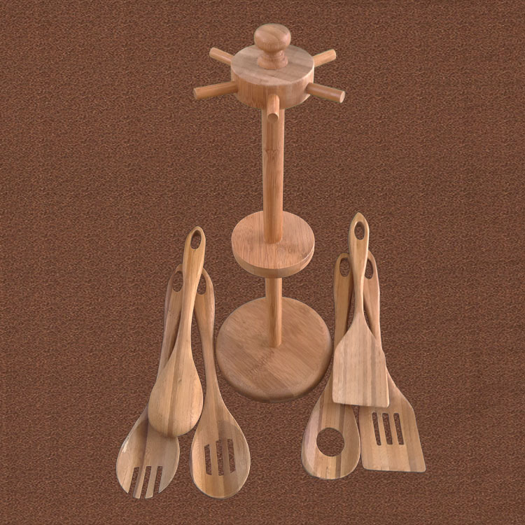 套裝勺鏟6個裝帶架子
