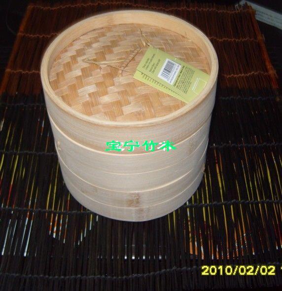 出口竹蒸籠20.3cm