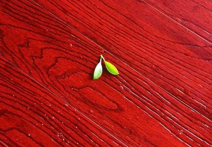 浮雕诗意丹枫新品竹地板