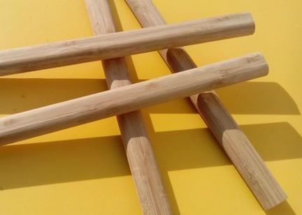 供应竹制锤子柄 榔头柄 羊角锤柄 碳化色