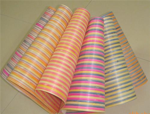 彩色竹皮、染色竹板 碳化 、本色、 斑馬竹皮