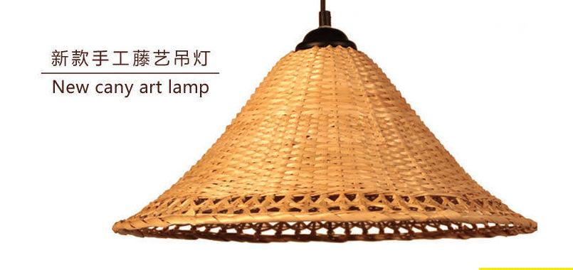 竹制品 竹家具 天然手工竹制吊燈