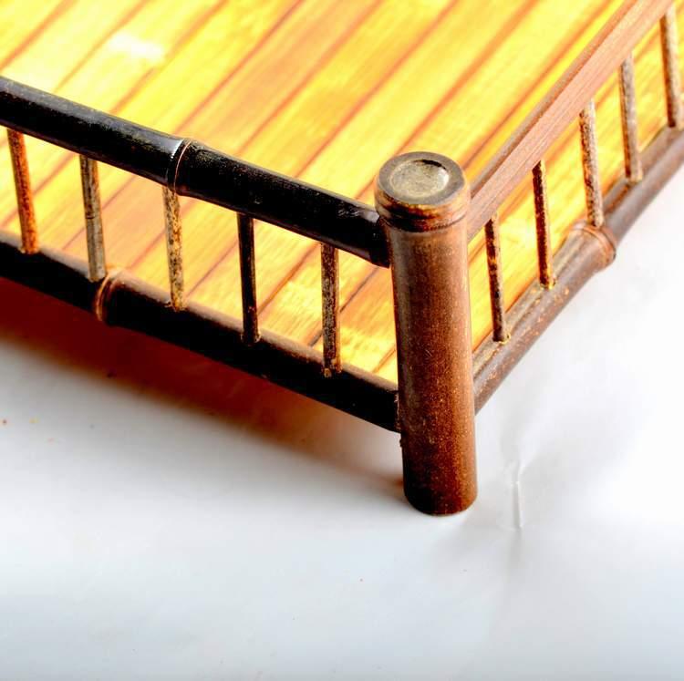 中國銘雕坊四角茶托時尚環保天然竹制品廠家直銷精品特賣回歸自然