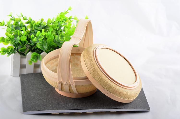 中國銘雕坊竹籃創意品質禮品招財高檔富貴純手工廠家直銷家居必備