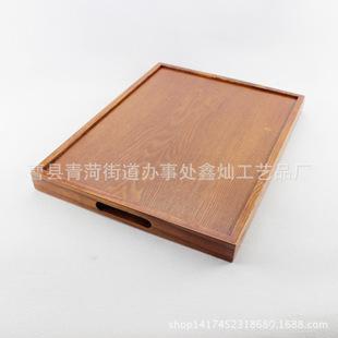 定制特价方形高档木质托盘 外贸茶盘 品质保证木托盘批发