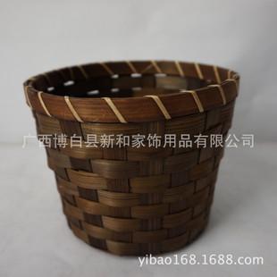 竹制品,花籃 竹面包筐 藤編產品 10元店產品