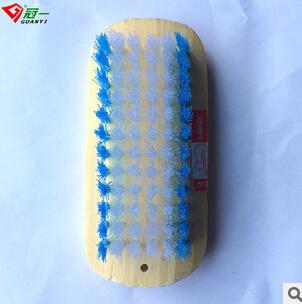 廠家直銷 永春制造冠一牌機制竹衣刷 不傷手洗衣刷