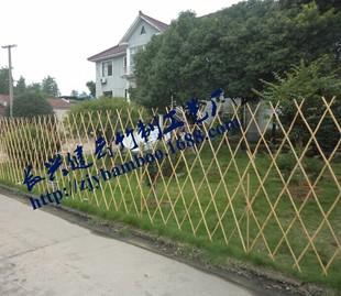 可伸缩园林竹篱笆竹栅栏
